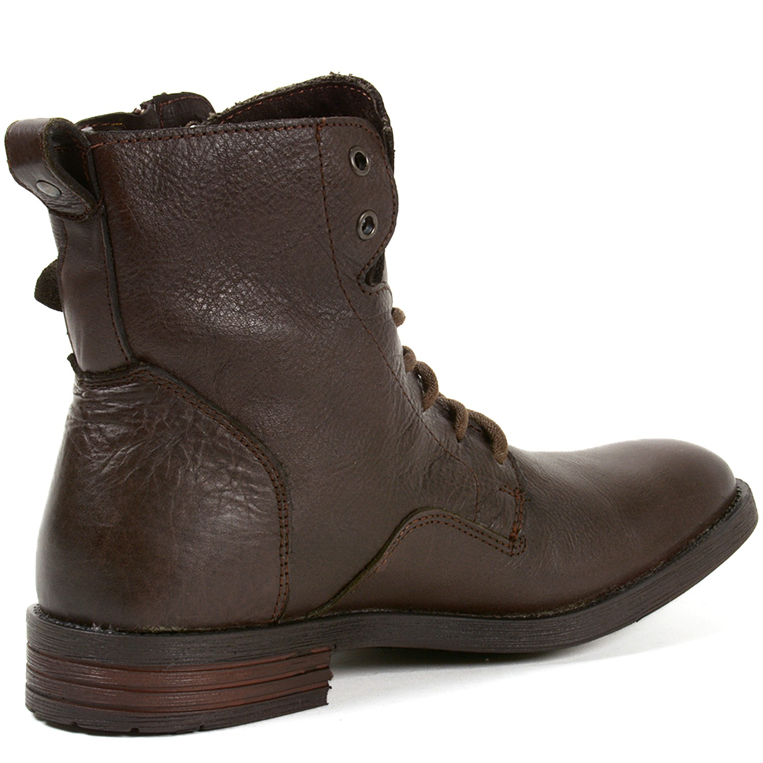 gbx mens trust leather boots combat style lace up