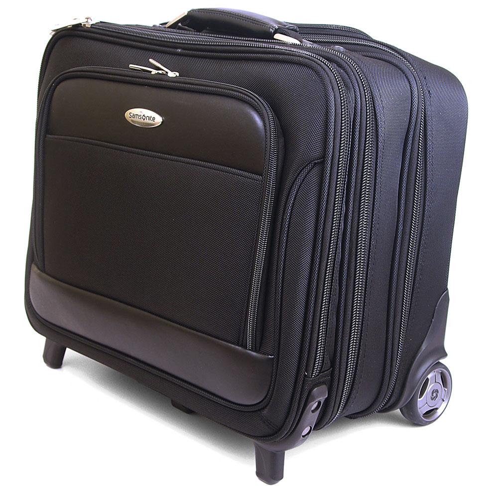 Samsonite Rolling Briefcase on Wheels Bonus Laptop Case 2 ...