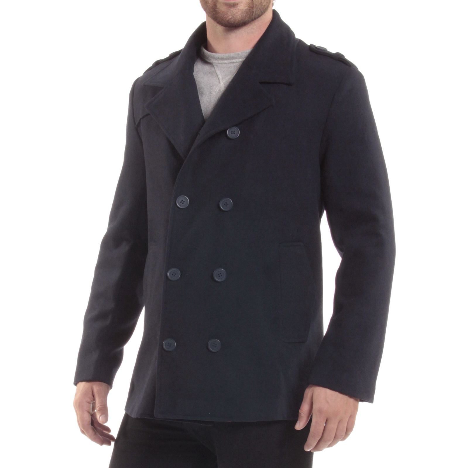 Custom Made Pea Coats to fit you. A custom pea coat for men is an important piece in men's wardrobe in winter. Design your men peacoat and we tailor it to your measurements. Get free shipping on .