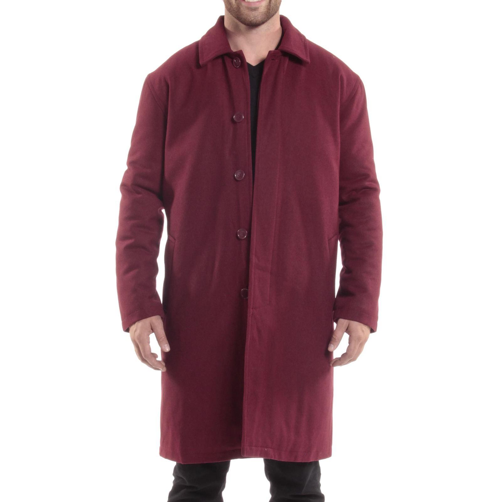 Overcoat size