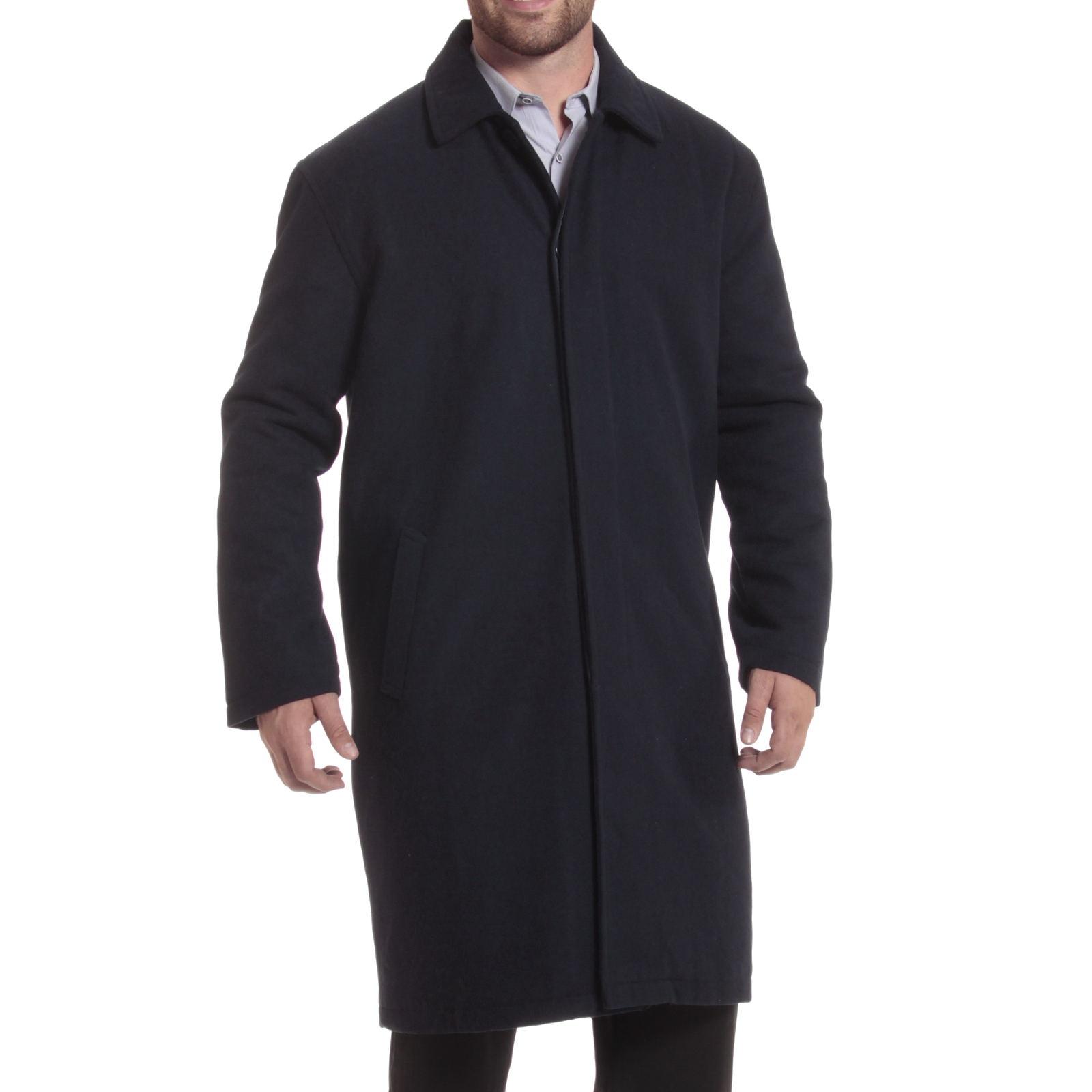 Knee length overcoat
