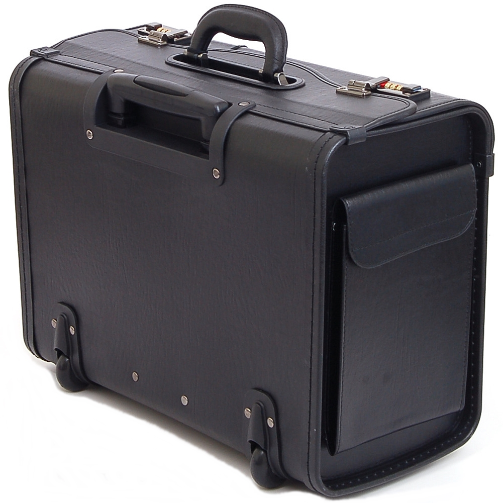 Alpineswiss 19 Quot Wheeled Briefcase Rolling Case Sales Sample Pilot Lawyer Attache