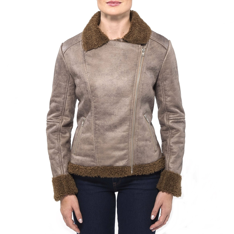 Womens shearling jackets