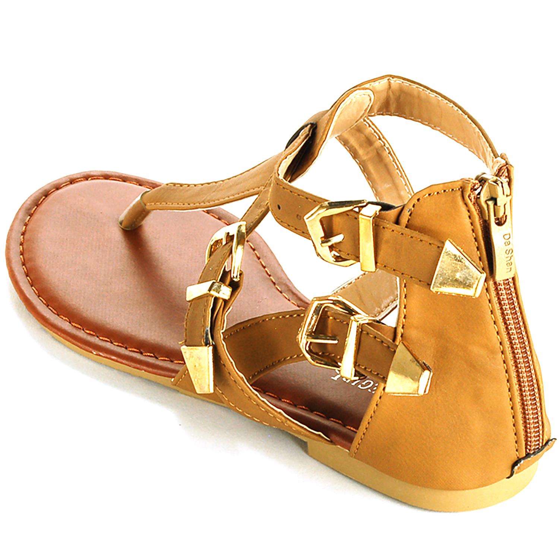 Womens sandals ebay - Womens Gladiator Sandals T Strap Thongs Roman Flats