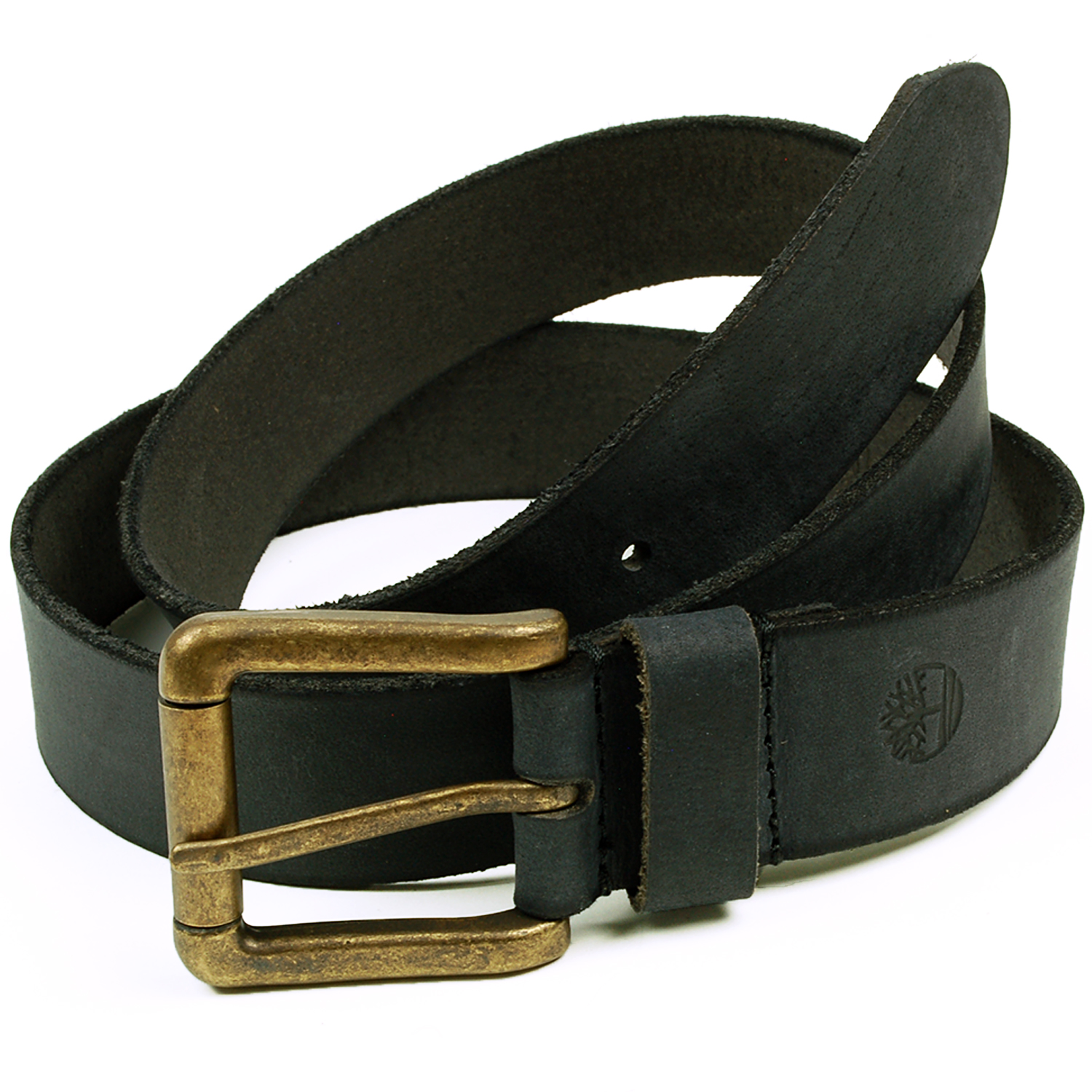 timberland mens leather belt classic distressed brass