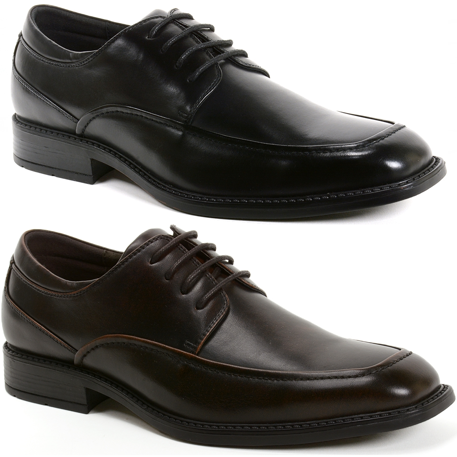 When you're shopping for men's dress shoes, it can often seem like style is a much easier goal to achieve than comfort. With all of Sears' available options, like men's oxfords and loafers, finding the perfect pair of shoes that both looks great your suit or jacket and feels great on your feet will be much easier.