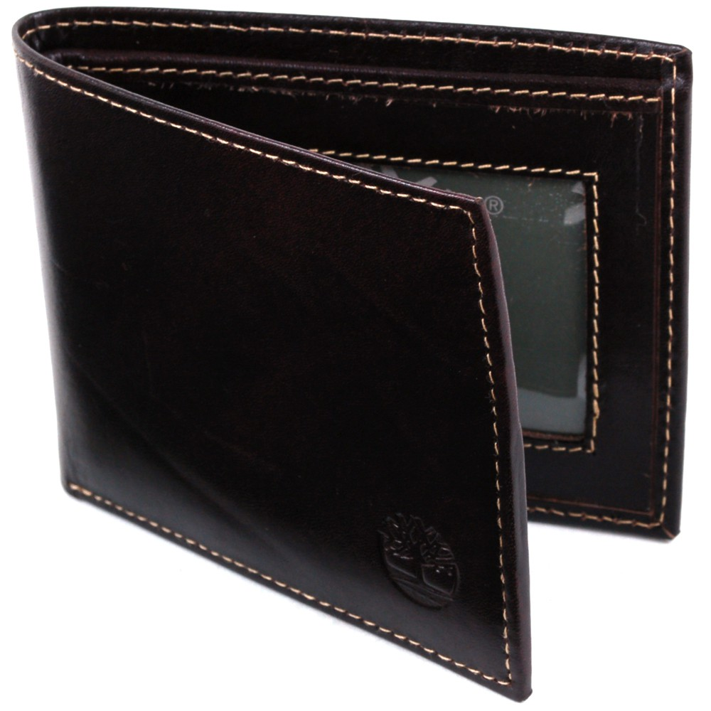 Timberland Slimfold Wallet for Men Thin Minimalist Bifold ID Cards Bills Section