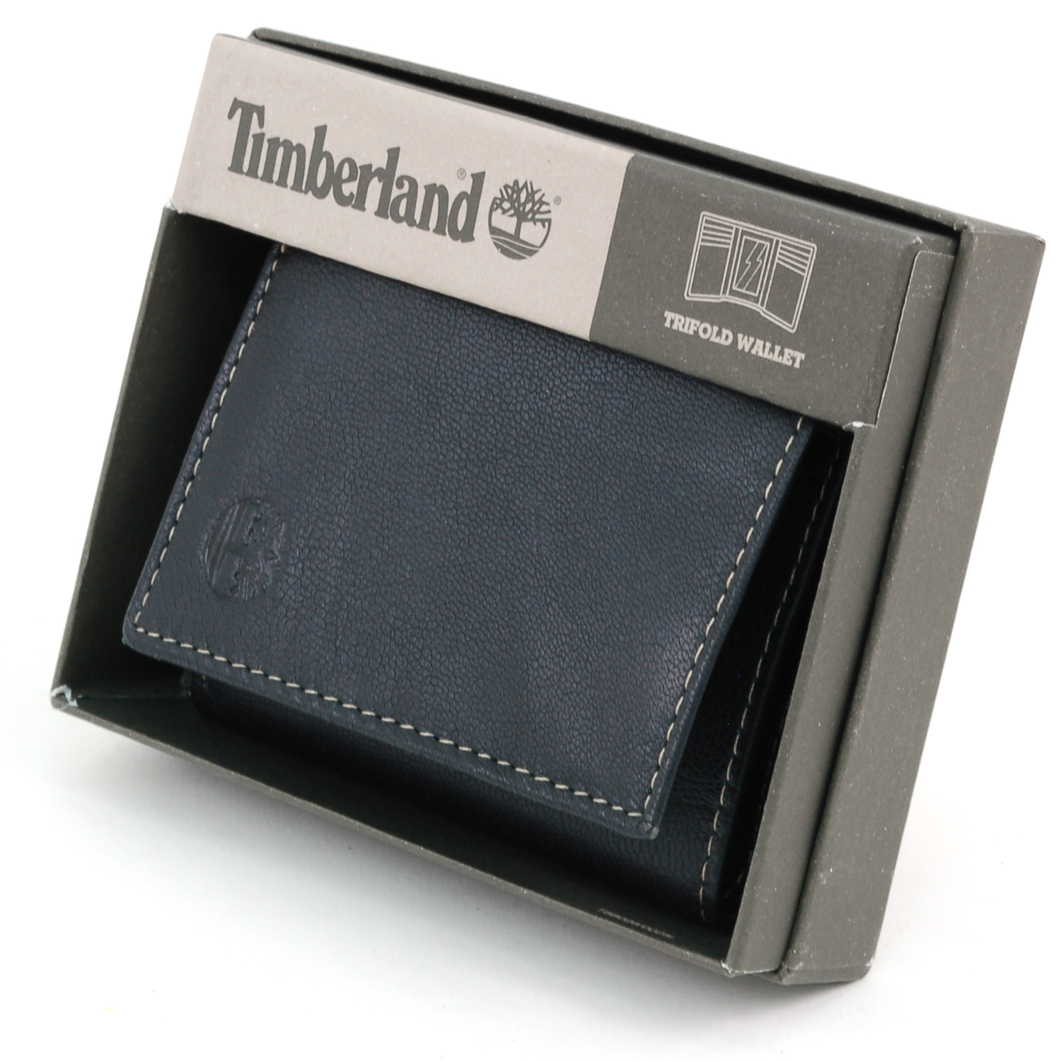Timberland trifold wallet genuine leather id window 6 2 for 2 id window wallet