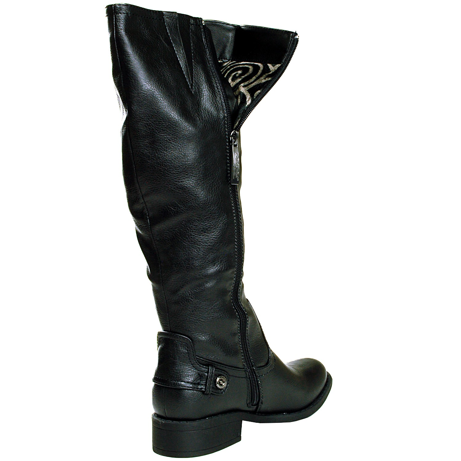 Shop Payless for a large selection of boots for women across thigh-high boots, booties, snow boots, rain boots, ankle boots, wide-calf boots, and many more! Payless also carries tall boots and riding boots, as well as thigh-high boots. Whether your preference is below the knee or over-the-knee number, these boots create an eye-catching look.