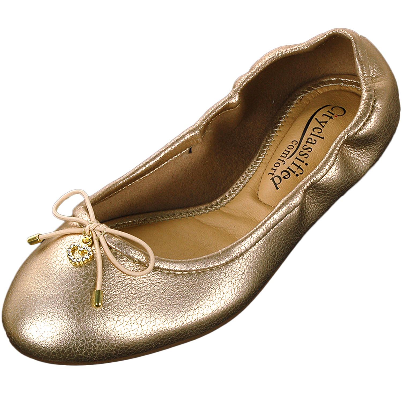 Womens Ballet Flats Slip On Ballerina Slippers Casual ...