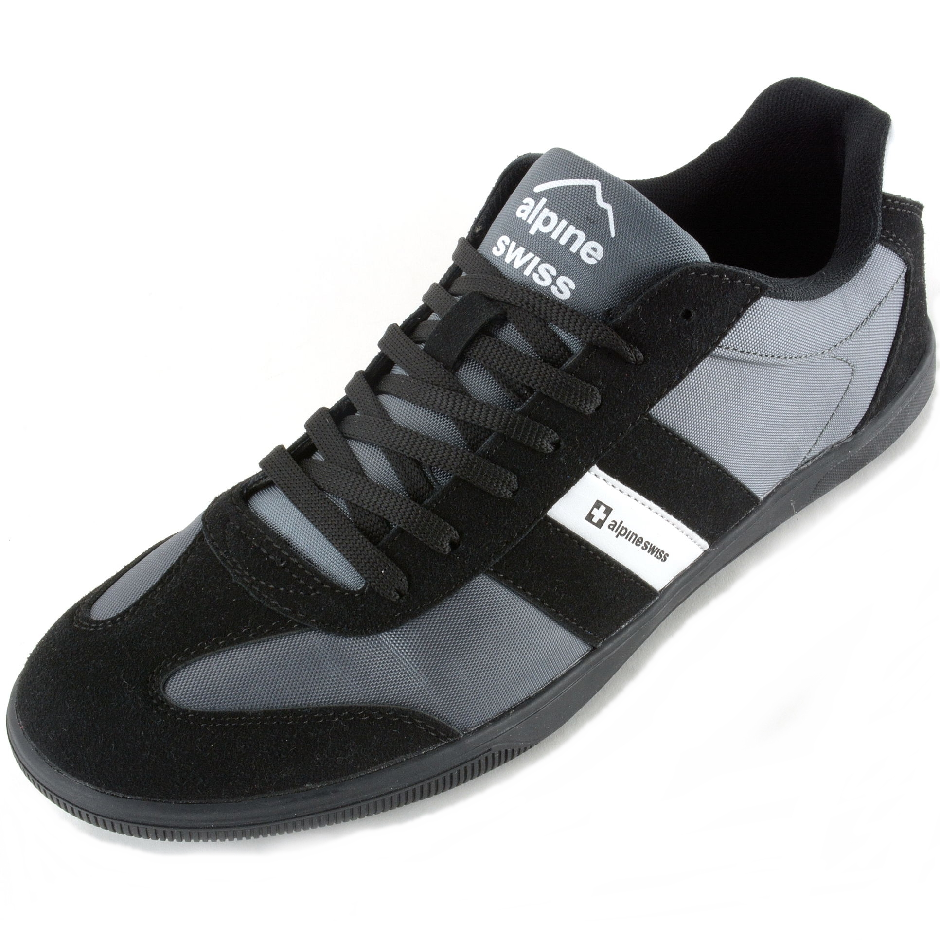 alpine swiss haris mens retro striped athletic shoes