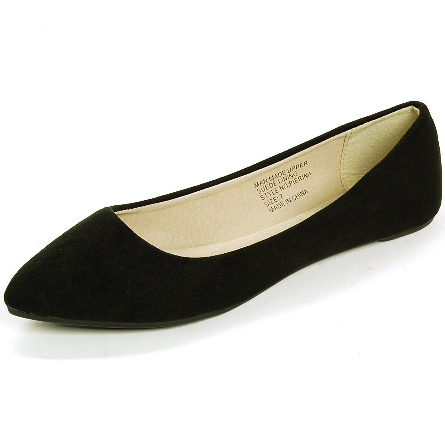 alpine swiss lilly s ballet flats pointed toe suede