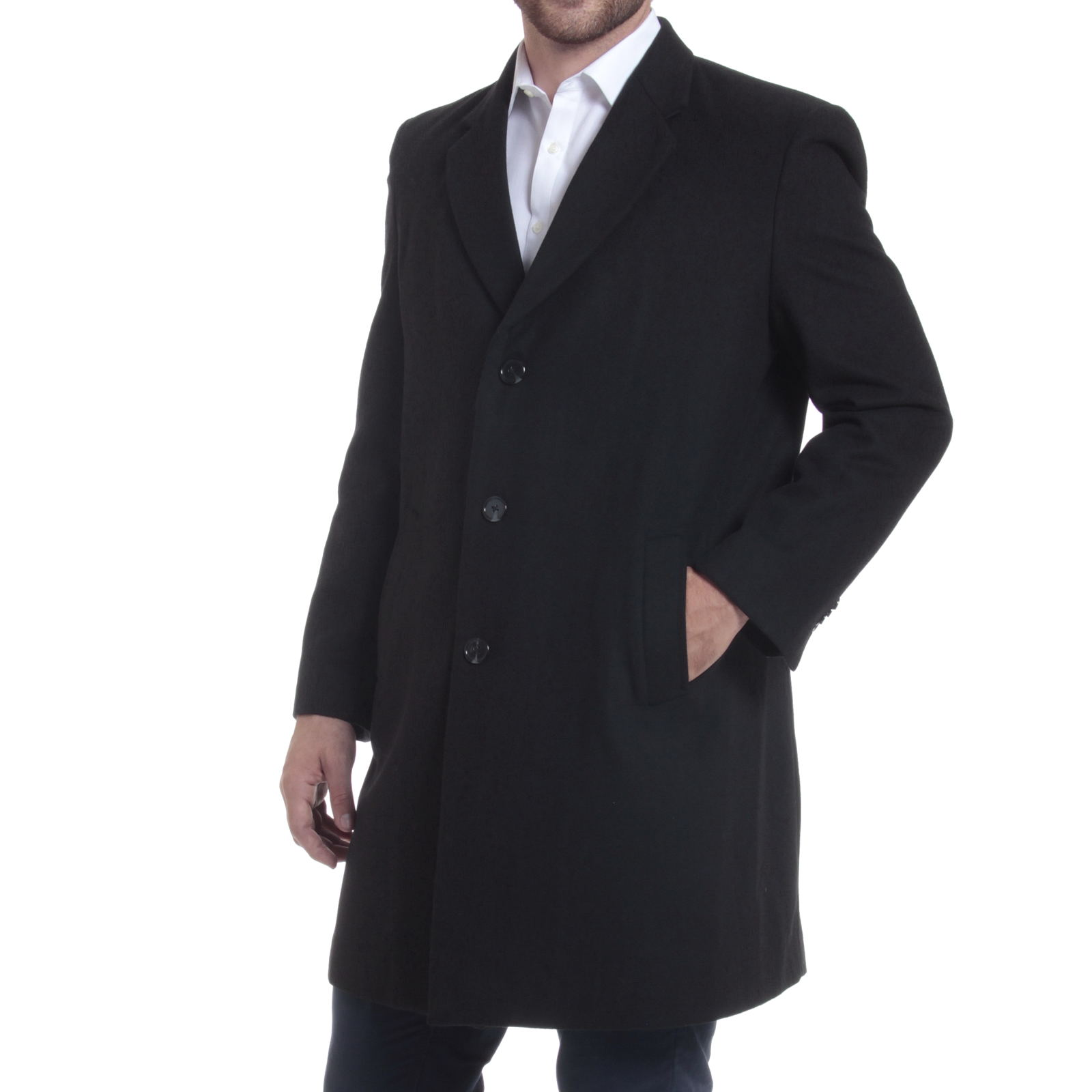 alpine swiss luke wool mens tailored 37 walker jacket top coat car coat overcoat. Black Bedroom Furniture Sets. Home Design Ideas