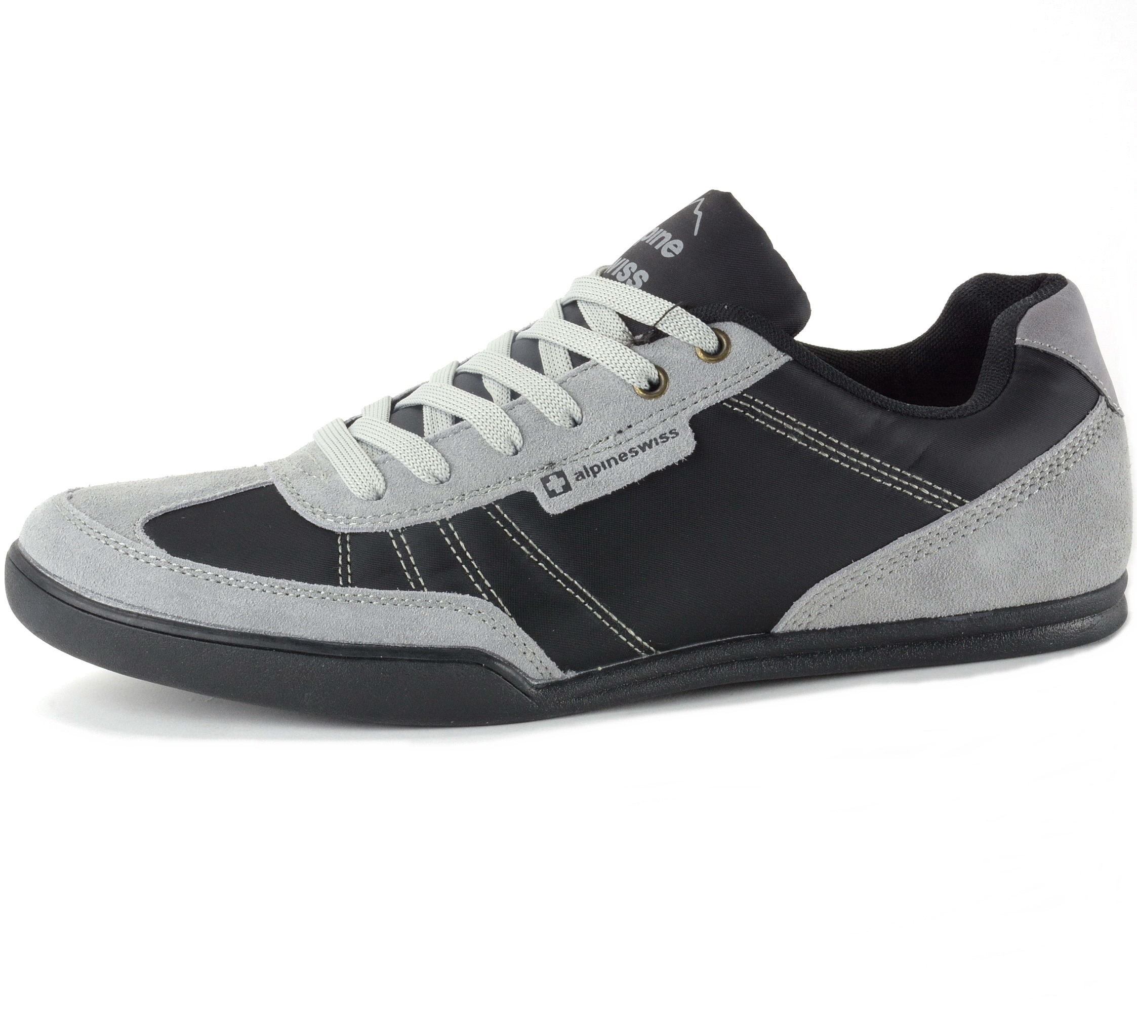 alpine swiss marco mens casual shoes sporty lace up jean