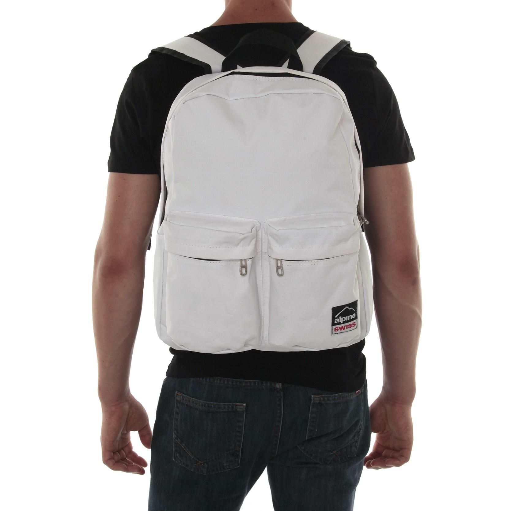 Alpine Swiss Major Back Pack Bookbag School Bag Daypack 1 ...