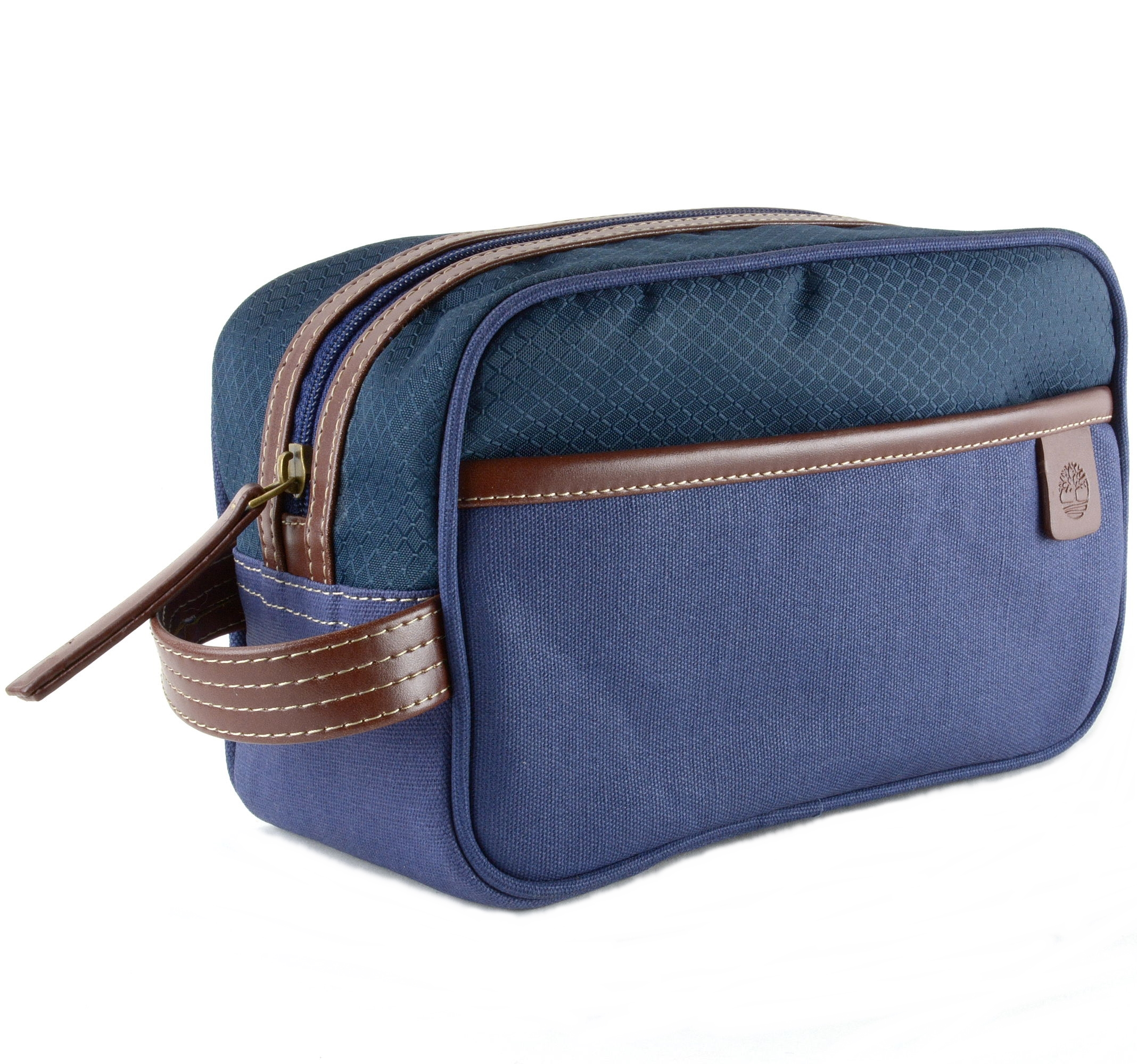 ... Travel Kit Toiletry Bag Overnight Handle Case Canvas Shaving Dopp Kit   new concept 32663 0fa50 Timberland-Toiletry-Bag-Dopp-Kit-Clutch- ... 0f83d4af97