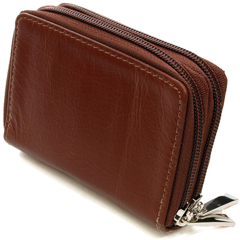 Alpine Swiss Womens Acordion Organizer Wallet Leather ...