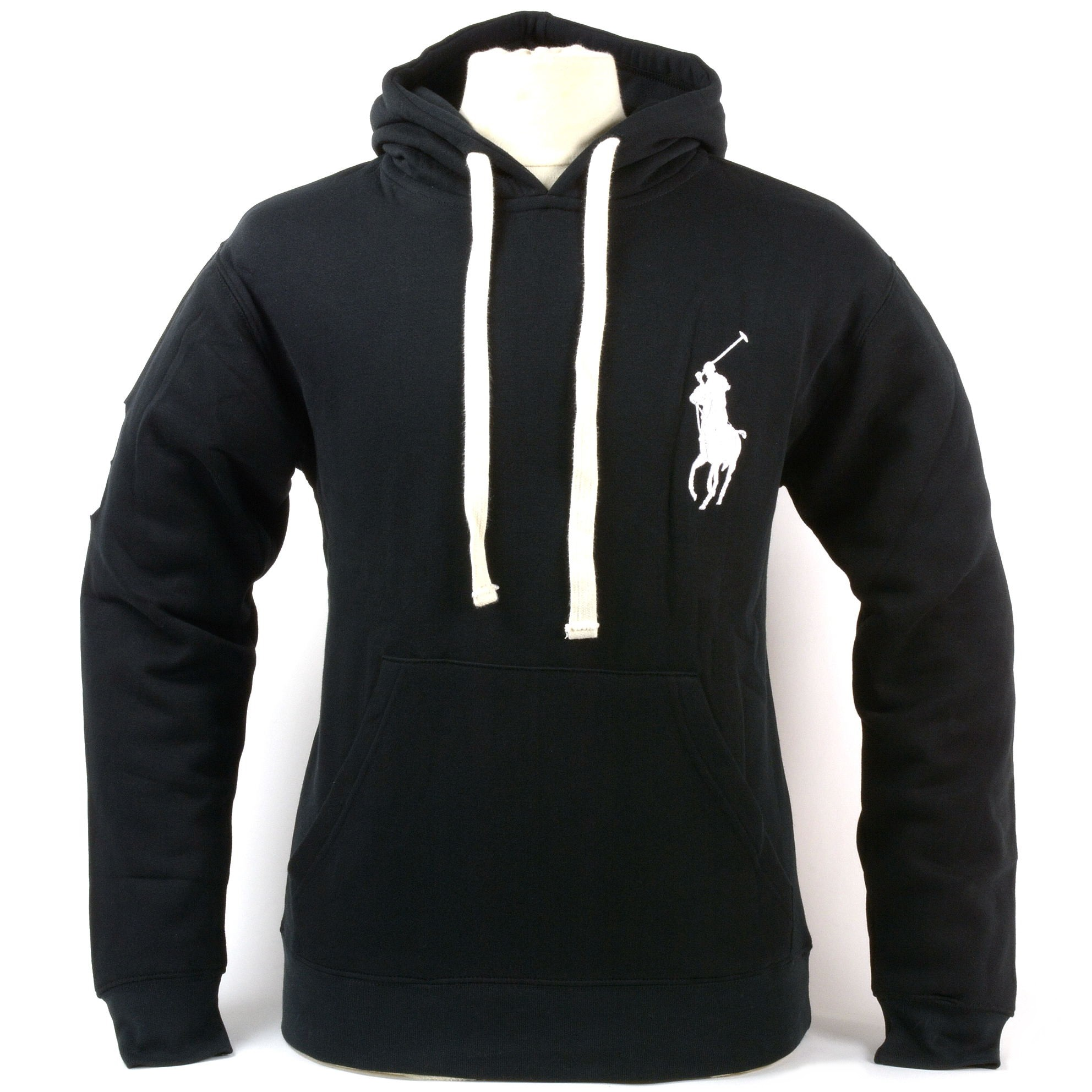 polo ralph lauren mens big pony hoodie drawstring pullover hooded sweatshirt new. Black Bedroom Furniture Sets. Home Design Ideas