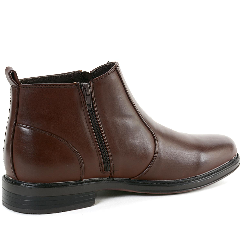 alpine swiss eli mens dressy ankle boots chelsea side zip