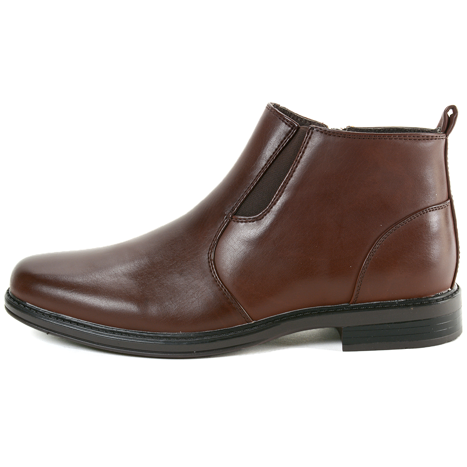 alpine swiss eli mens dressy ankle boots chelsea side zip