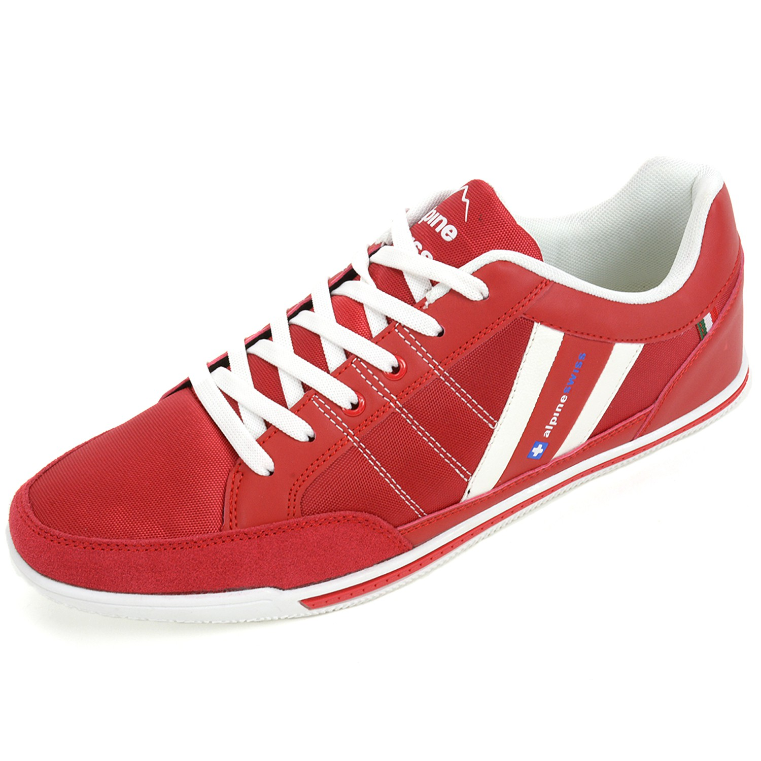 alpine swiss stefan mens retro fashion sneakers tennis
