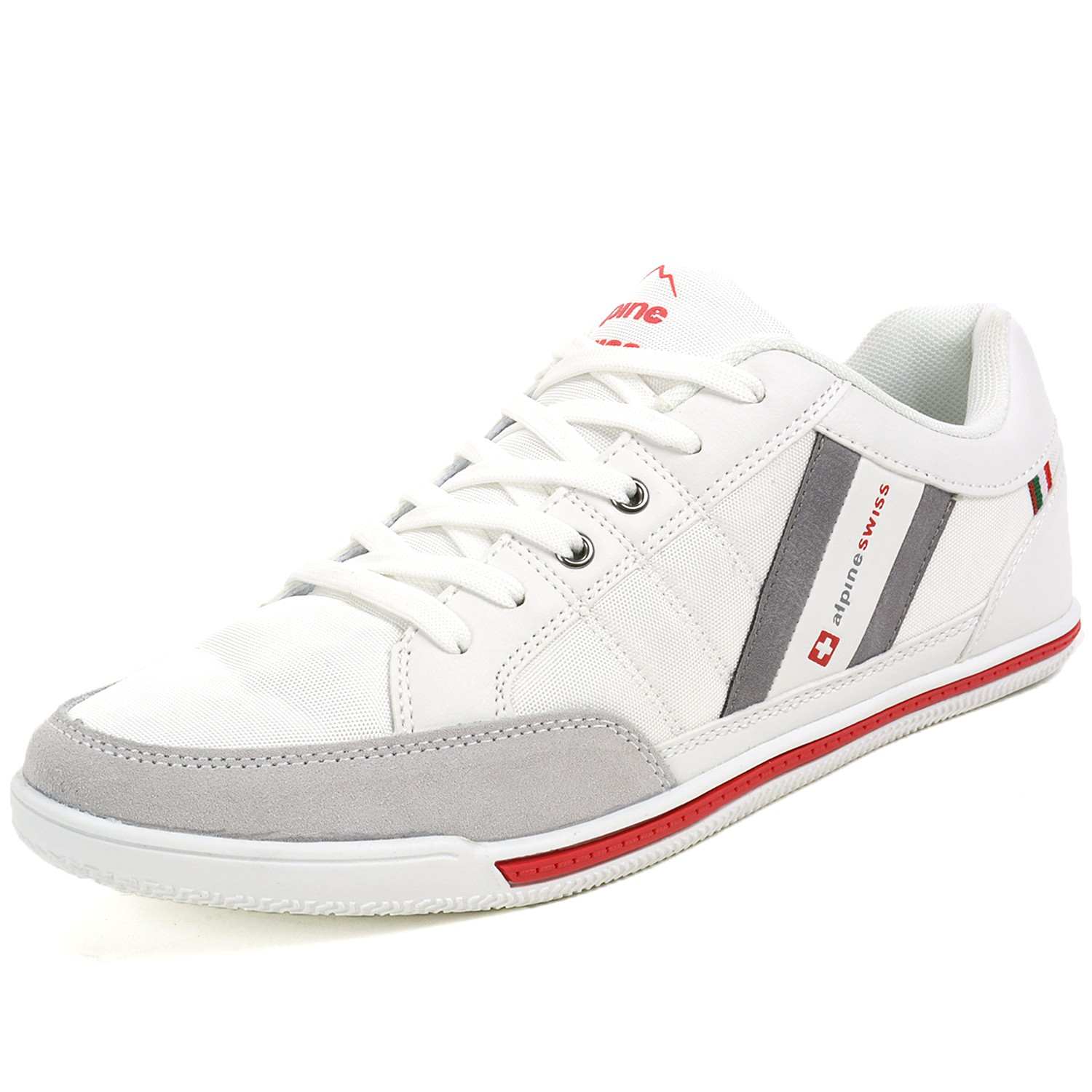 Alpine Swiss Stefan Mens Retro Fashion Sneakers Tennis Shoes ...