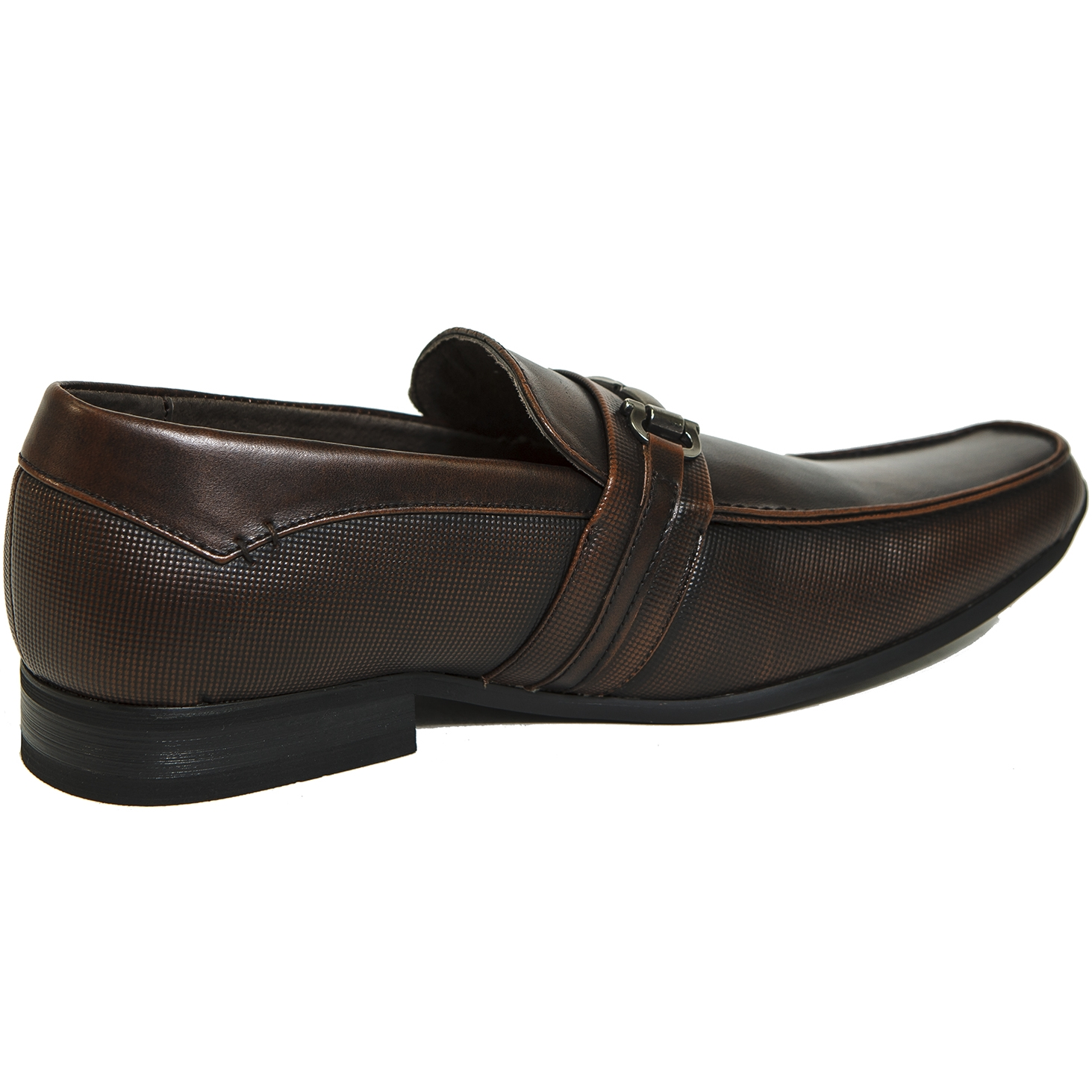 Alpine Swiss Stelvio Mens Buckle Loafers Slip On Tapered Dress Shoes RUNS NARROW