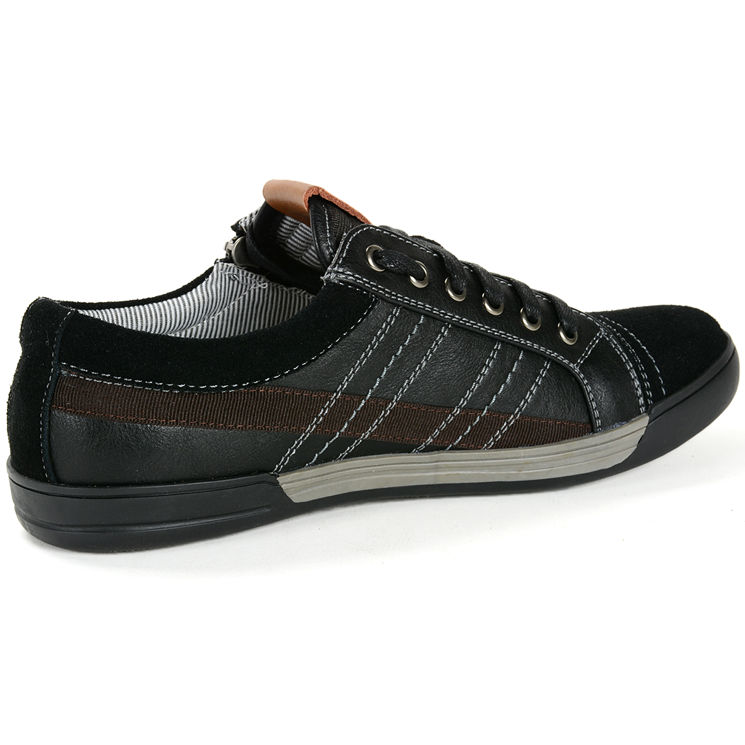 alpine swiss valon mens fashion sneakers low top dress or