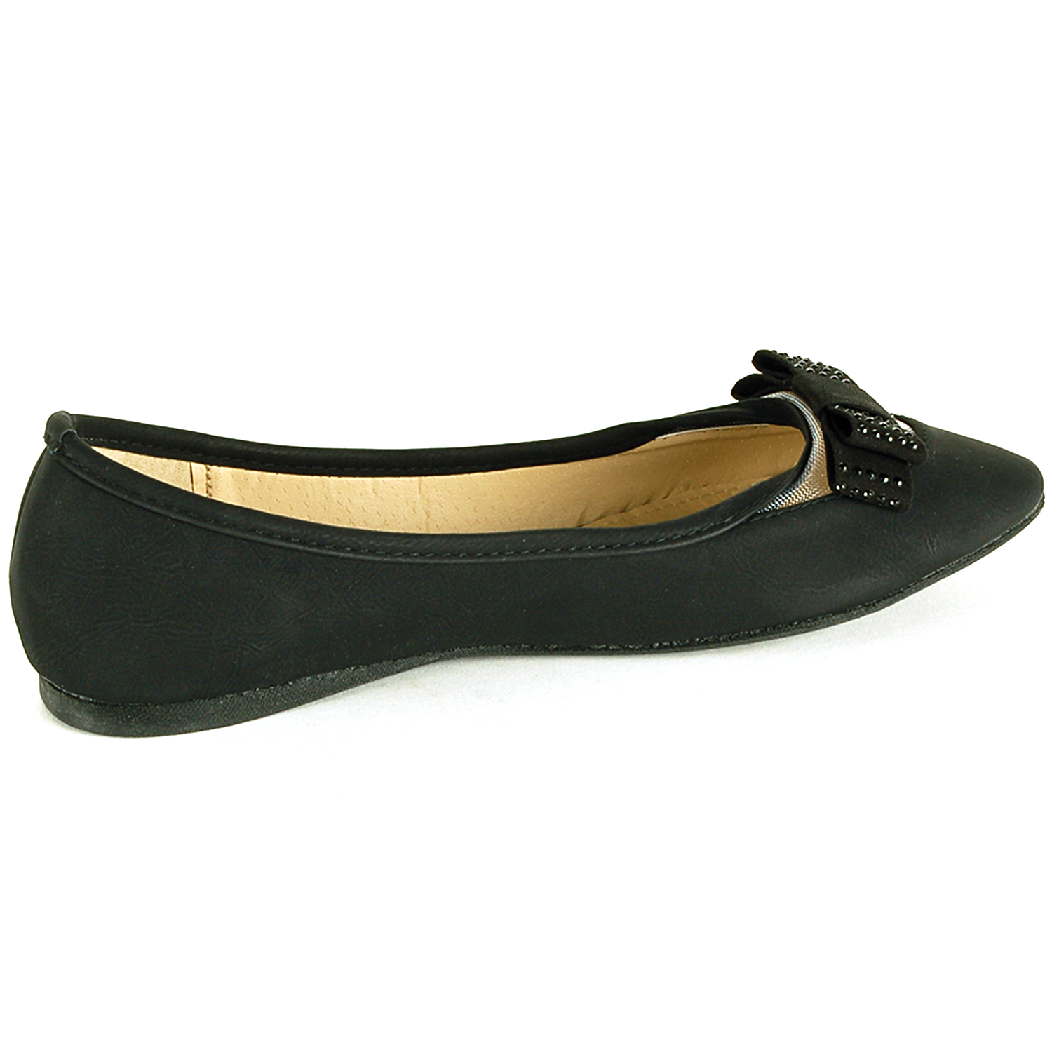 Original EASYSPIRIT2572NEWWomensGitanaBlackDressLoafersShoes6Medium