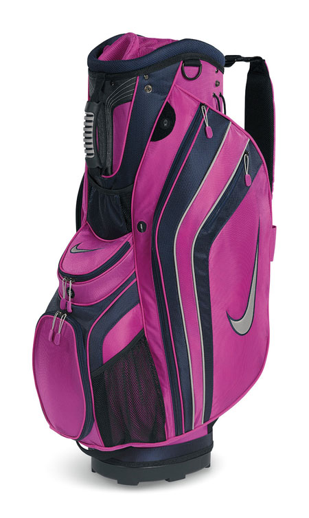 Excellent Nike Golf Women39s Brassie II Cart Bag  BlackWhitePink
