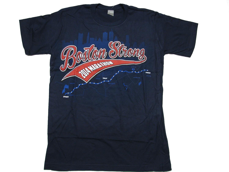 Liquid blue boston marathon 2014 boston strong t shirt ebay for Boston strong marathon t shirts