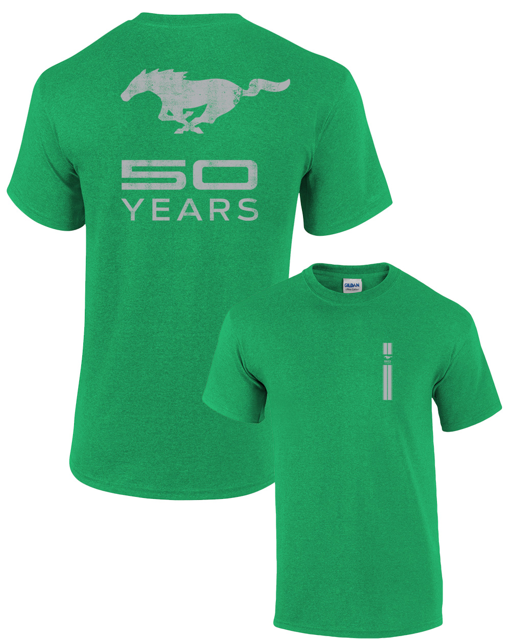 ford t shirt mustang 50 years pony ebay. Black Bedroom Furniture Sets. Home Design Ideas