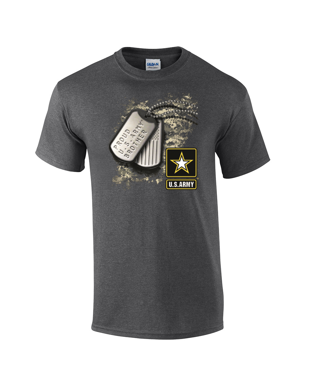 Proud U S Army Brother Military T Shirt Ebay