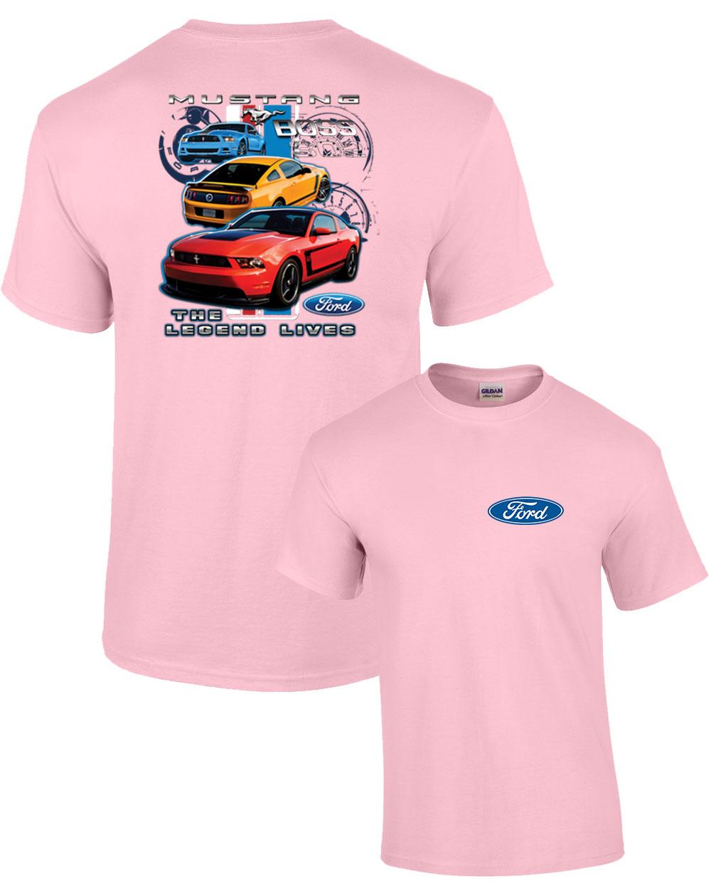 Ford Mustang Boss 302 Youth T Shirt Legend Lives Design Ebay
