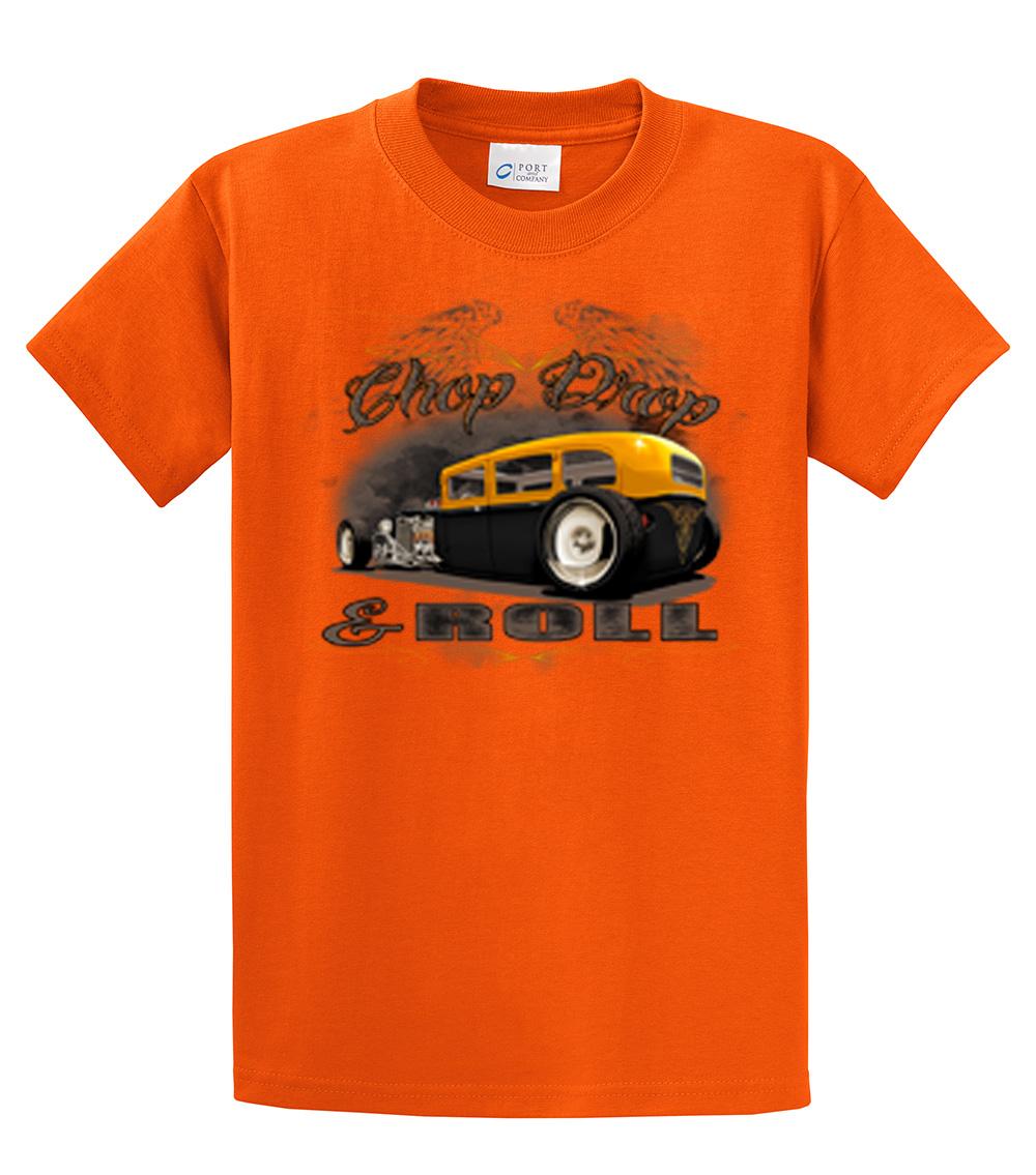 Car t shirt chop drop roll hot rod car tee for T shirt drop shipping companies