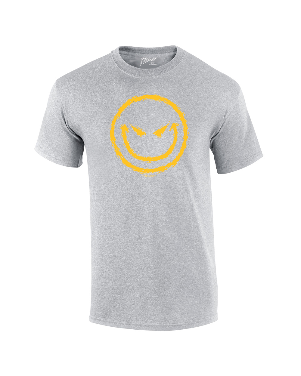 evil smiley face t shirt ebay. Black Bedroom Furniture Sets. Home Design Ideas