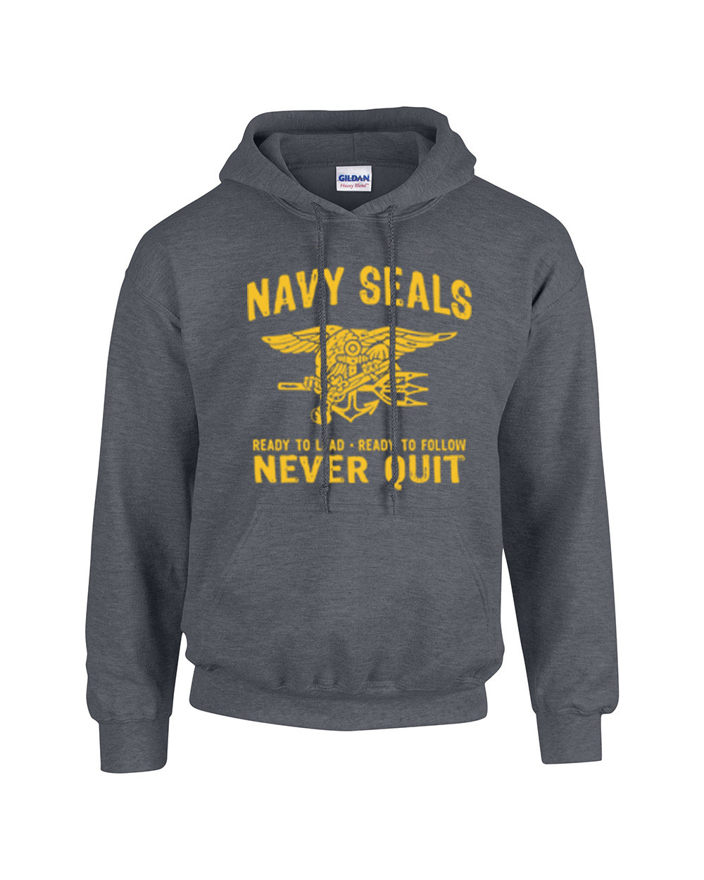 United States Navy Seals Never Quit Hooded Sweatshirt US Navy   eBay