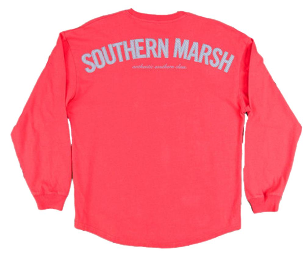 Southern marsh rebecca jersey long sleeve t shirt ebay for Southern marsh dress shirts on sale
