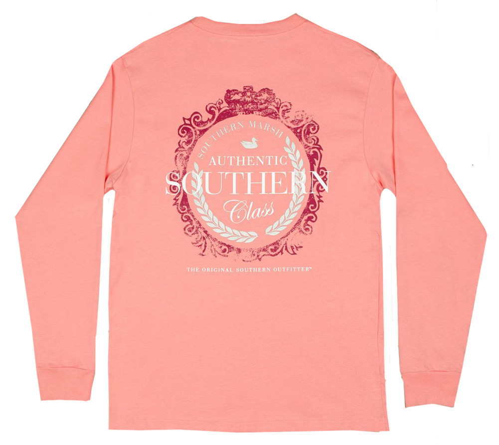 Southern marsh authentic southern class lilac long sleeve for Southern marsh dress shirts on sale
