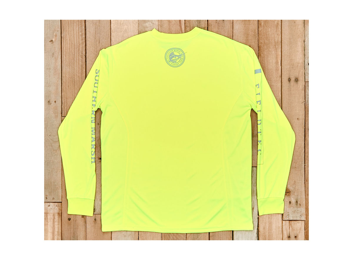 Southern marsh fieldtec fishing t shirt long sleeve ebay for Southern marsh dress shirts on sale