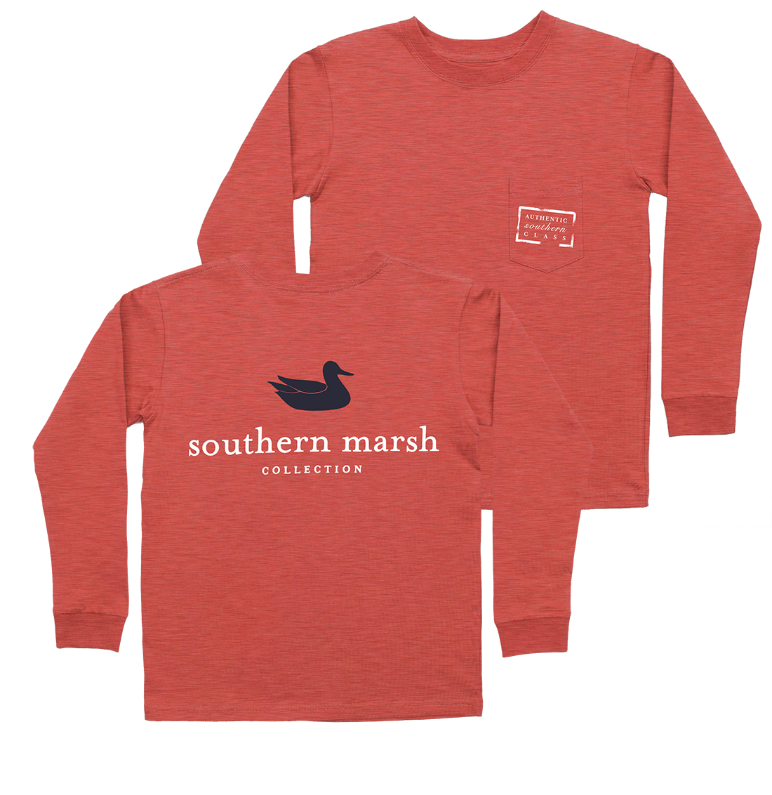 Southern marsh youth authentic long sleeve tee ebay for Southern marsh dress shirts on sale
