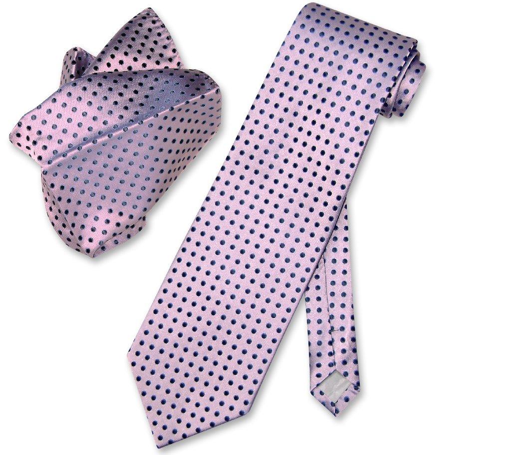 Antonio Ricci NeckTie & Handkerchief Purple w Blue Polka Dots Men's Neck Tie Set at Sears.com