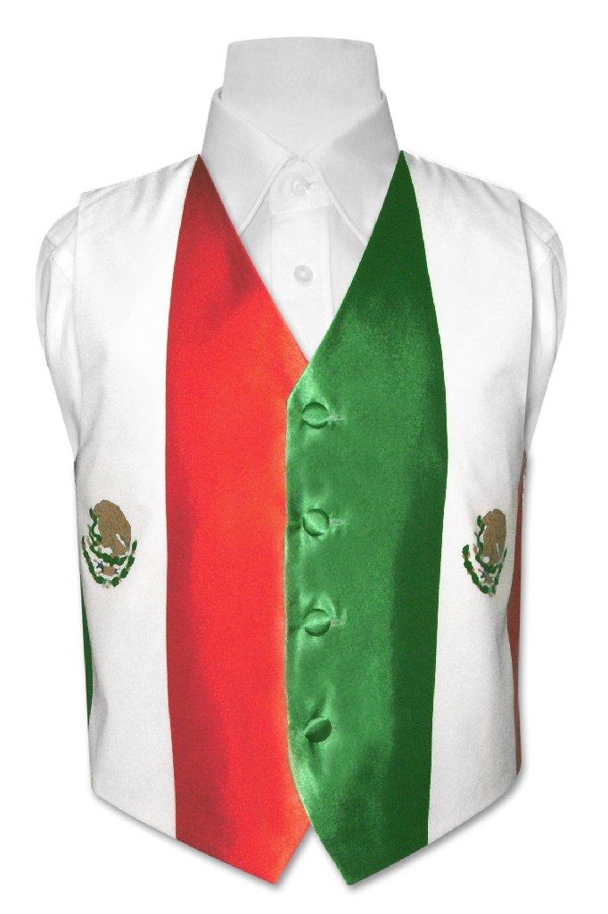 Covona Boy's Mexican Flag Dress Vest size 4