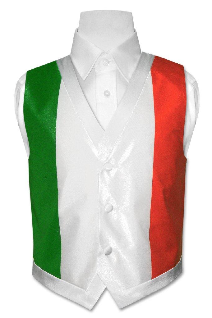 Covona Boy's Italian Flag Dress Vest size 8