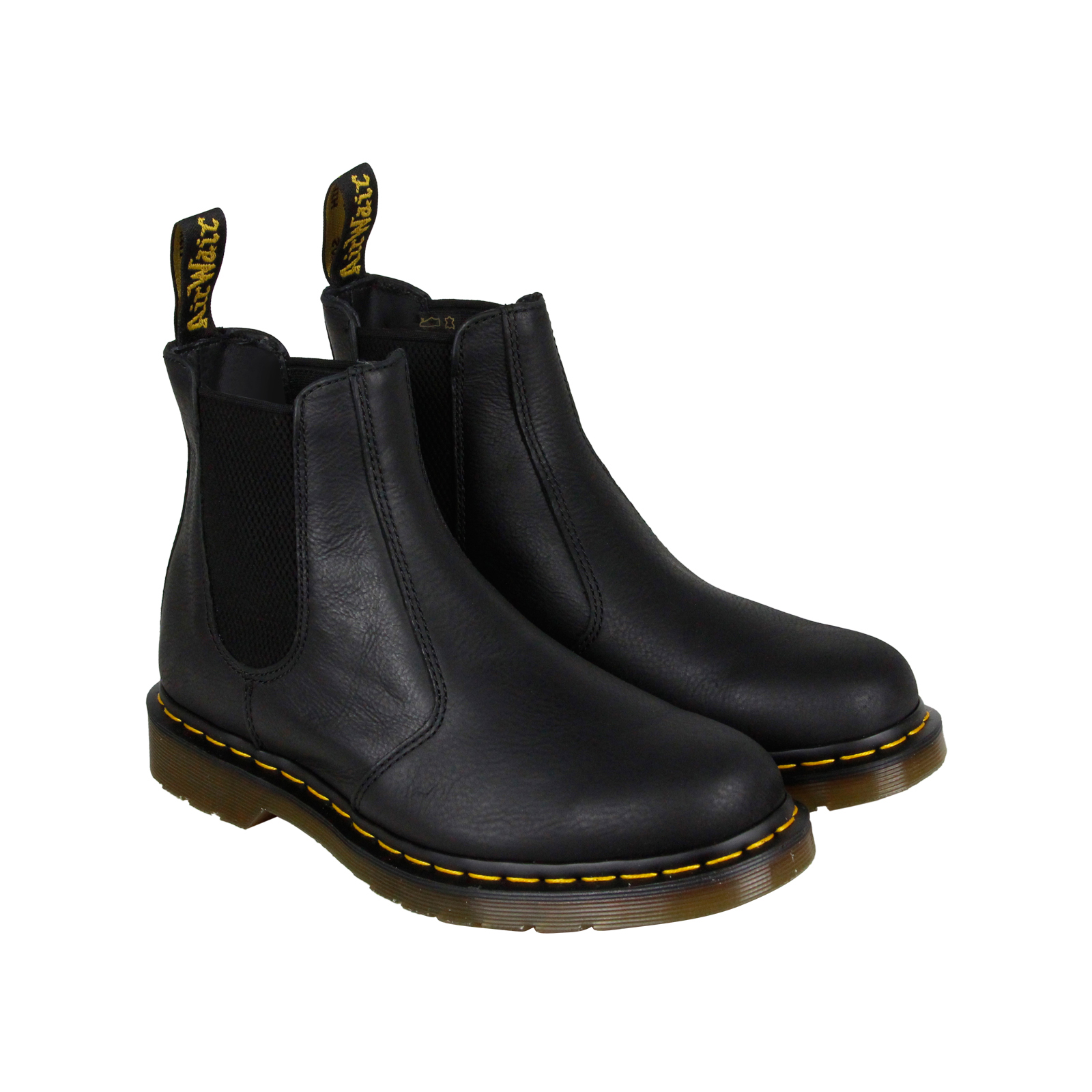 dr martens 2976 chelsea boot mens brown leather casual