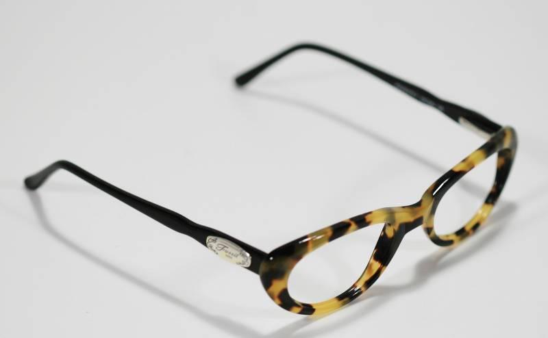 Fossil Tortoise Shell Glasses