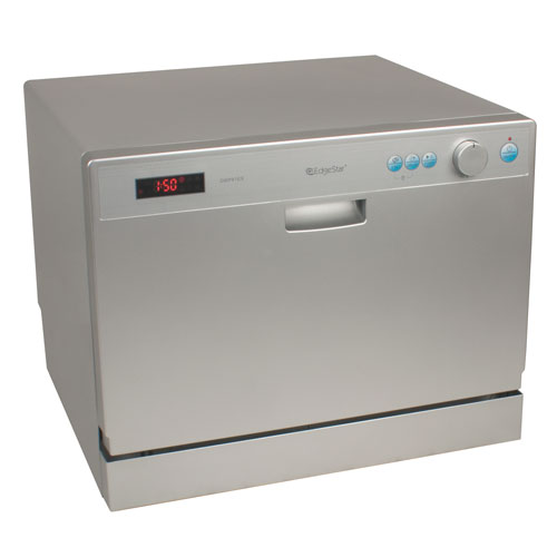 Countertop Dishwasher Small : New DWP61ES Portable Countertop Compact Digital Dishwasher - 6 place ...