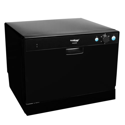 Countertop Dishwasher Ebay : ... Portable Countertop Compact Dishwasher - Black, 4 Place Setting eBay