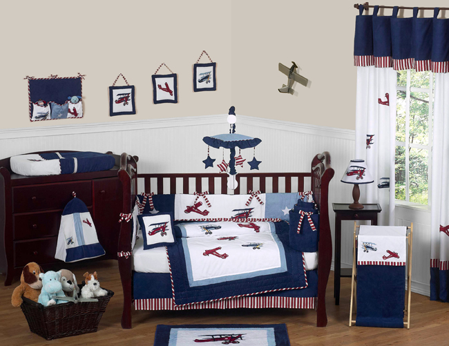 Baby Boat Nursery Bedding