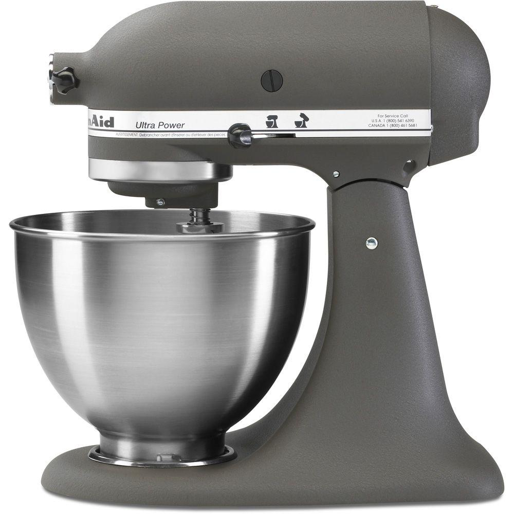 Grey Kitchenaid Mixer: KITCHENAID KSM95GR 4.5QT 300W ULTRA POWER TILT-HEAD STAND
